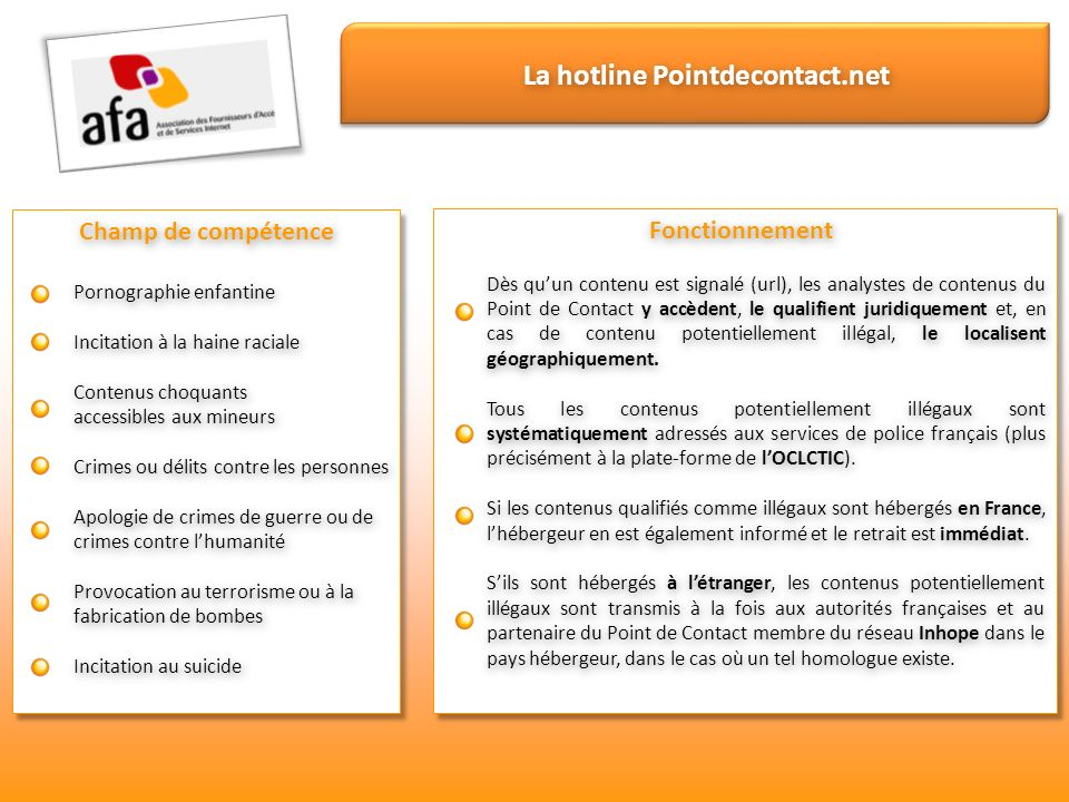 La hotline Pointdecontact.net
