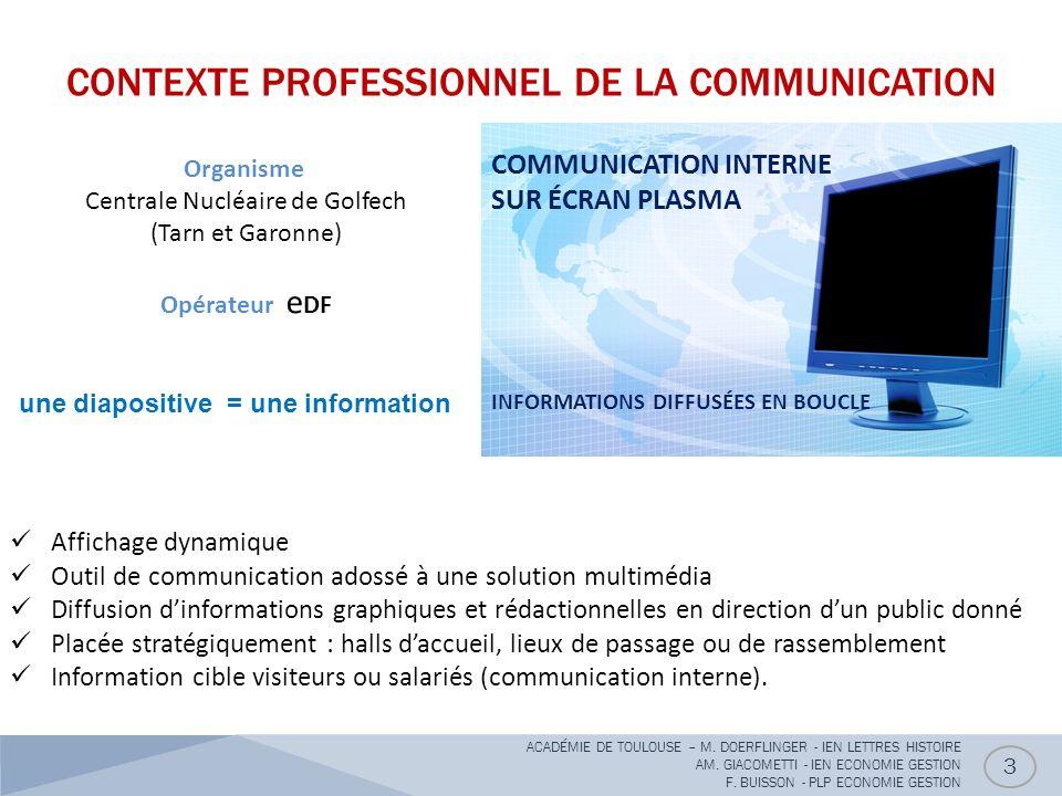 une diapositive = une information