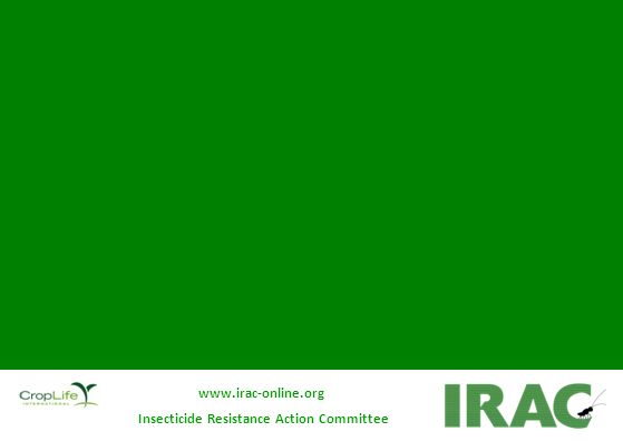 www.irac-online.org Insecticide Resistance Action Committee