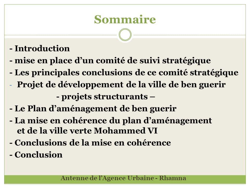 Sommaire - Introduction