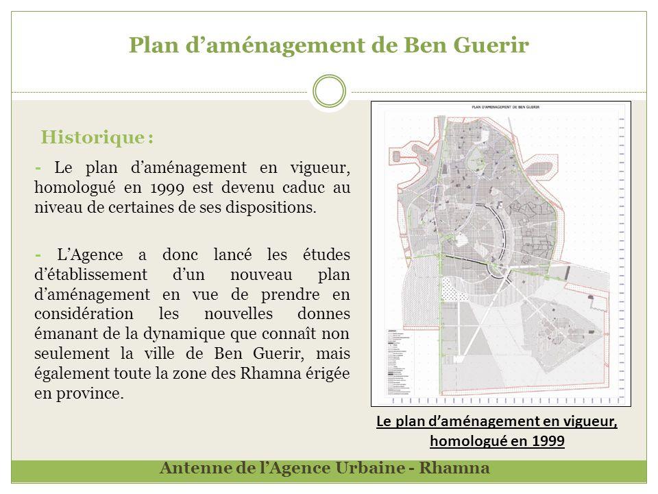 Plan d'aménagement de Ben Guerir