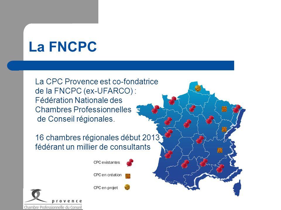 La FNCPC La CPC Provence est co-fondatrice de la FNCPC (ex-UFARCO) :
