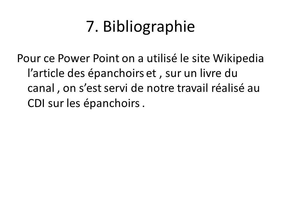 7. Bibliographie