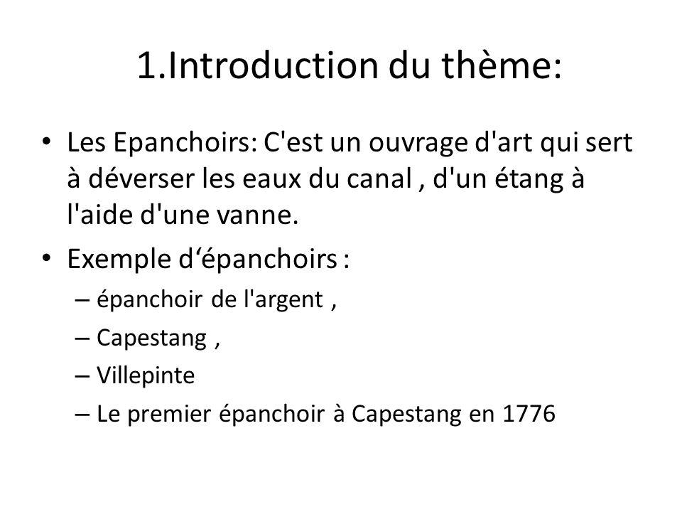 1.Introduction du thème: