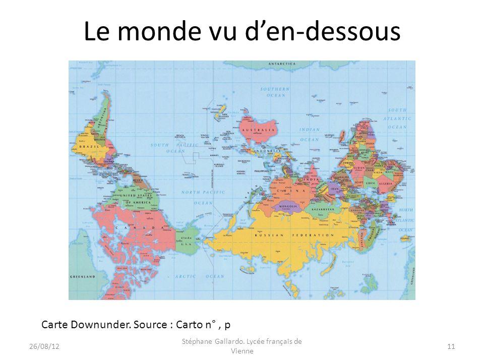 Le monde vu d'en-dessous