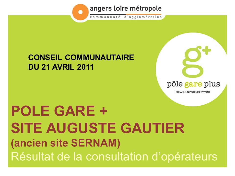POLE GARE + SITE AUGUSTE GAUTIER