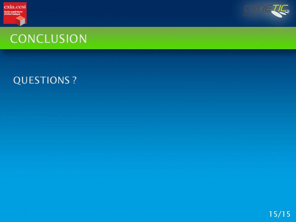 Conclusion Questions 15/15
