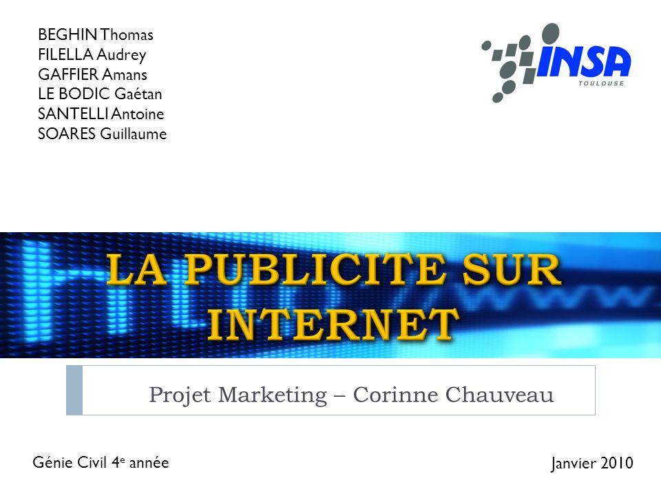 LA PUBLICITE SUR INTERNET