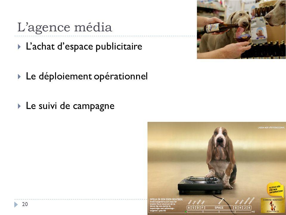 L'agence média L'achat d'espace publicitaire