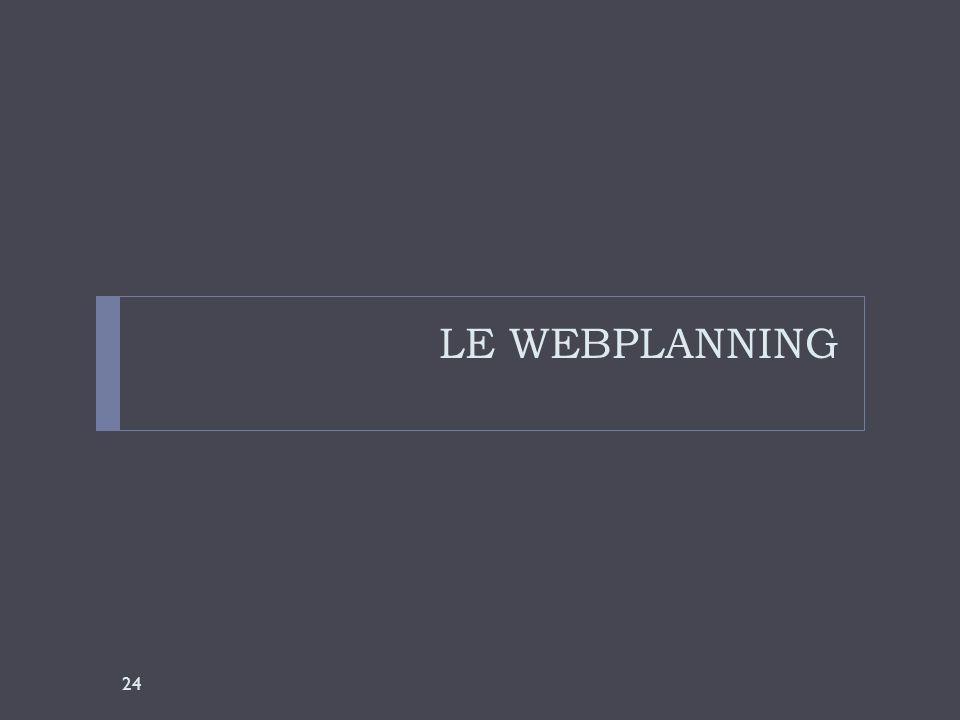 LE WEBPLANNING