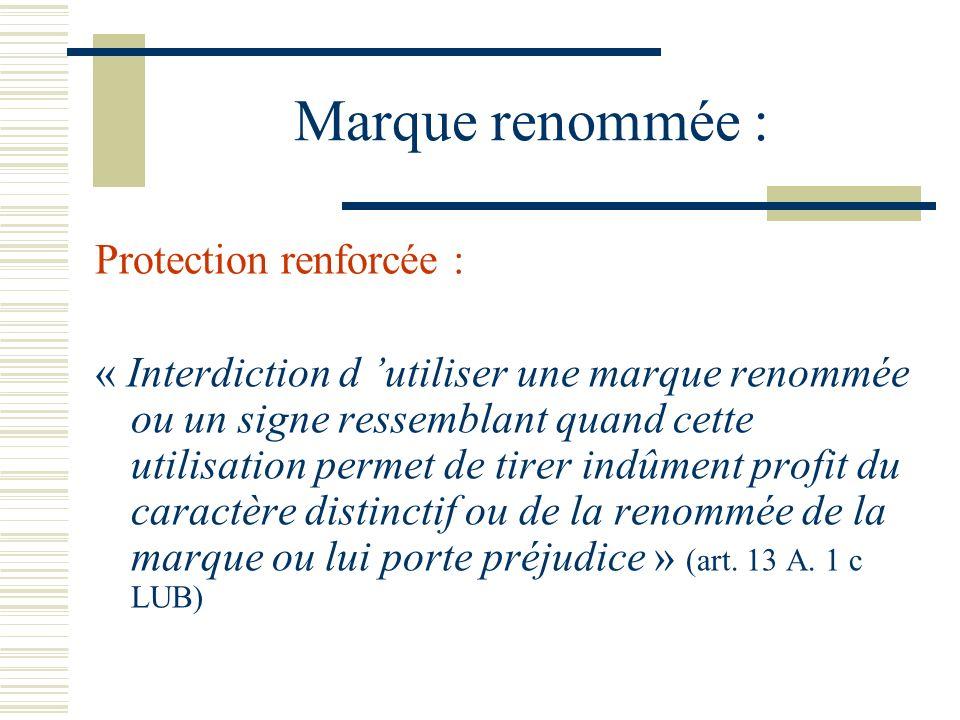 Marque renommée : Protection renforcée :