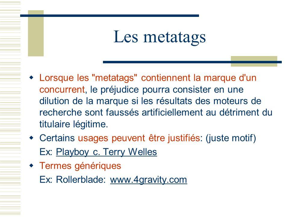 Les metatags