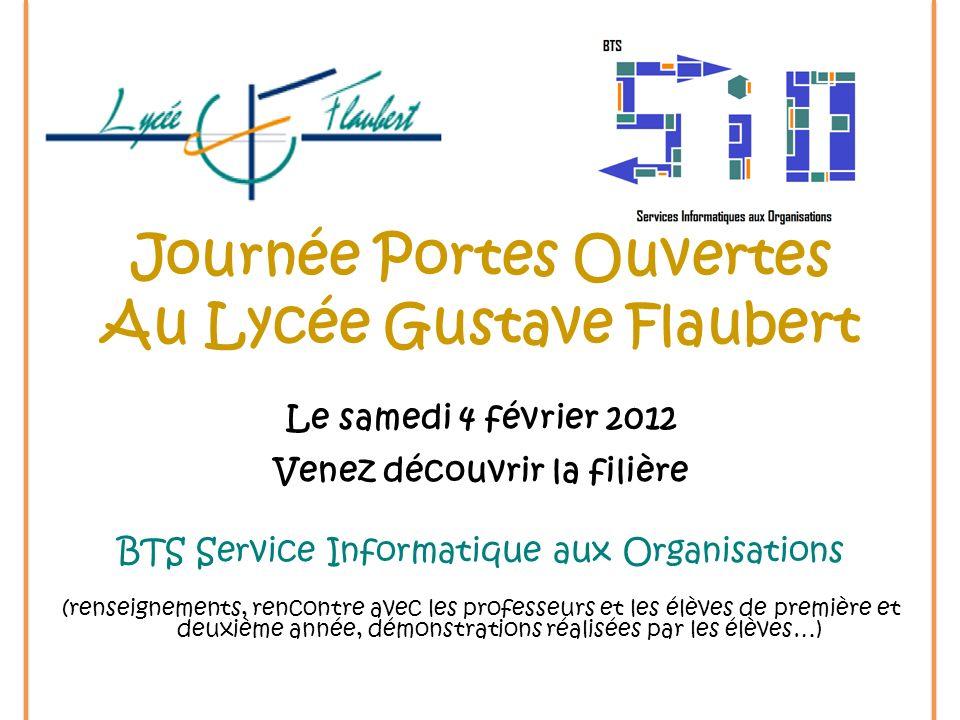 Journée Portes Ouvertes Au Lycée Gustave Flaubert