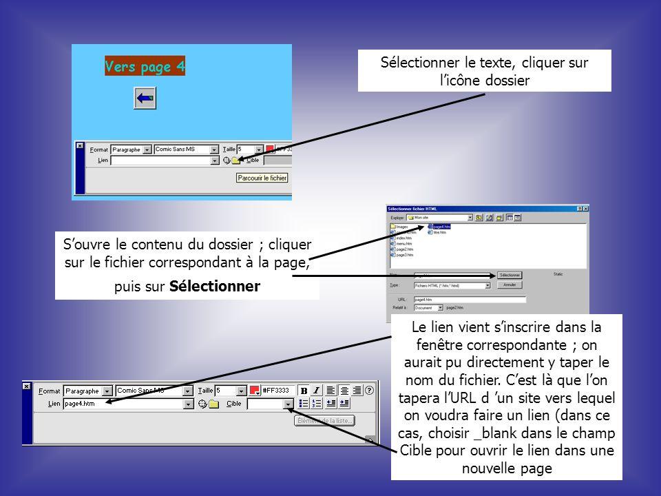Cr er un site web simple ppt t l charger for Ouvrir un lien dans une nouvelle fenetre html
