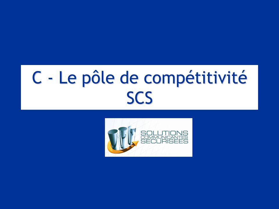C - Le pôle de compétitivité SCS