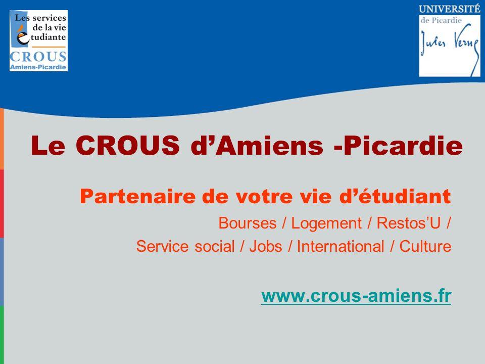 Le CROUS d'Amiens -Picardie