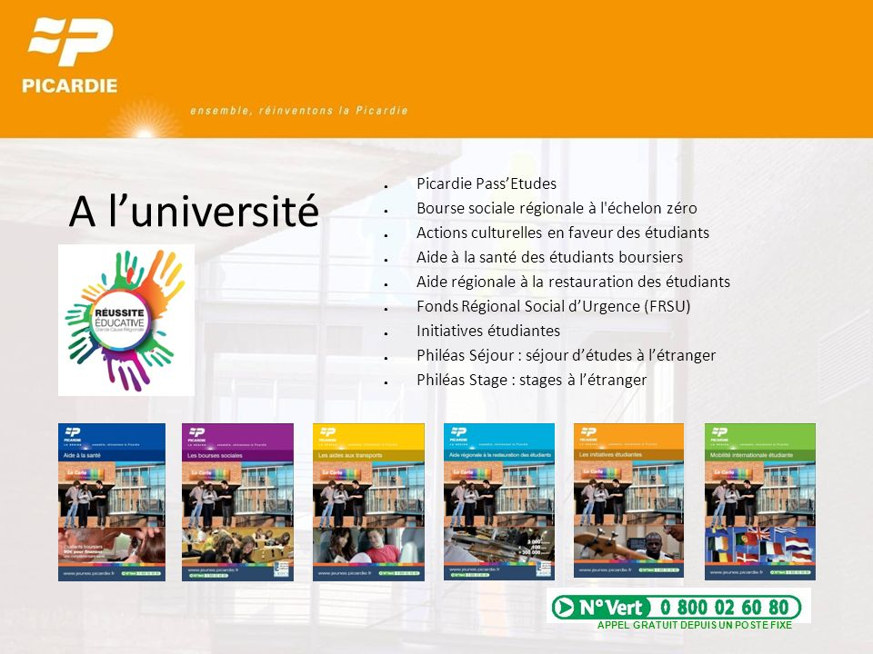 A l'université Picardie Pass'Etudes