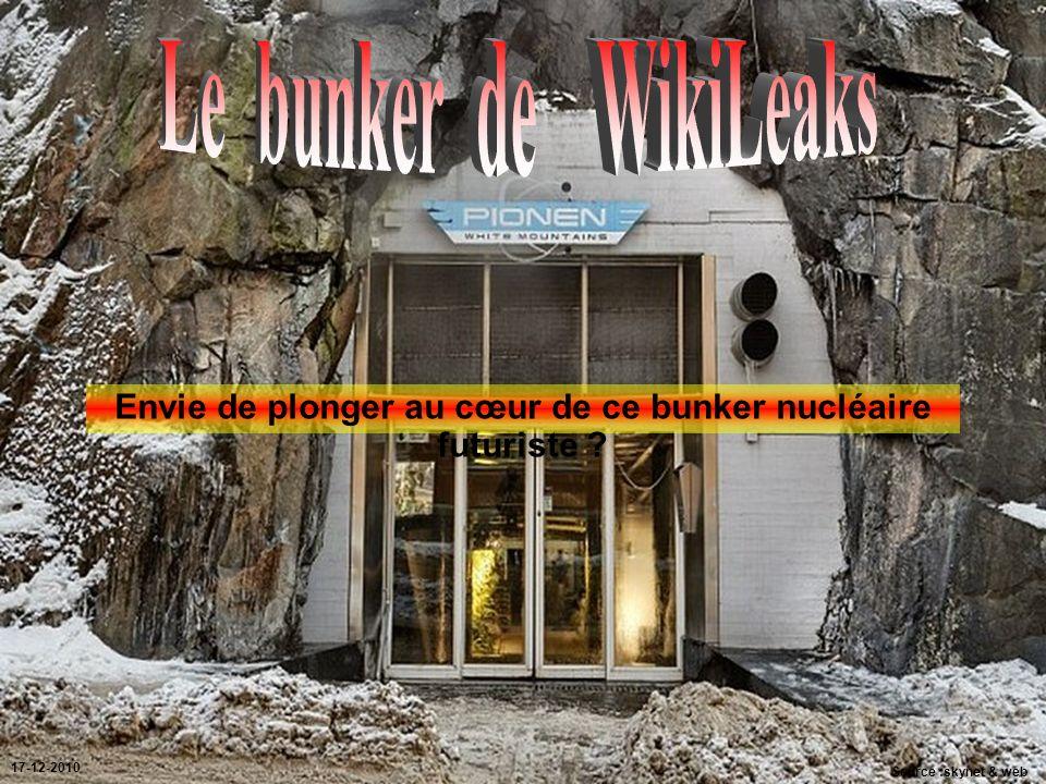 Envie de plonger au cœur de ce bunker nucléaire futuriste