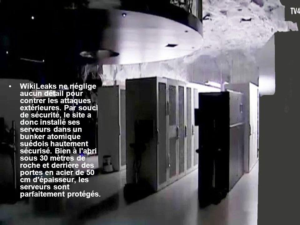 WikiLeaks ne néglige aucun détail pour contrer les attaques extérieures.