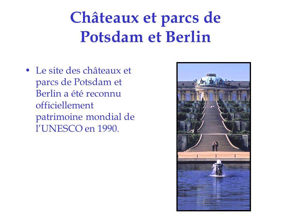 Châteaux et parcs de Potsdam et Berlin