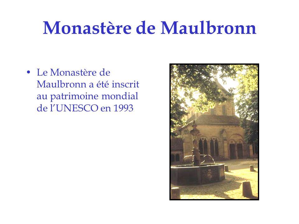 Monastère de Maulbronn