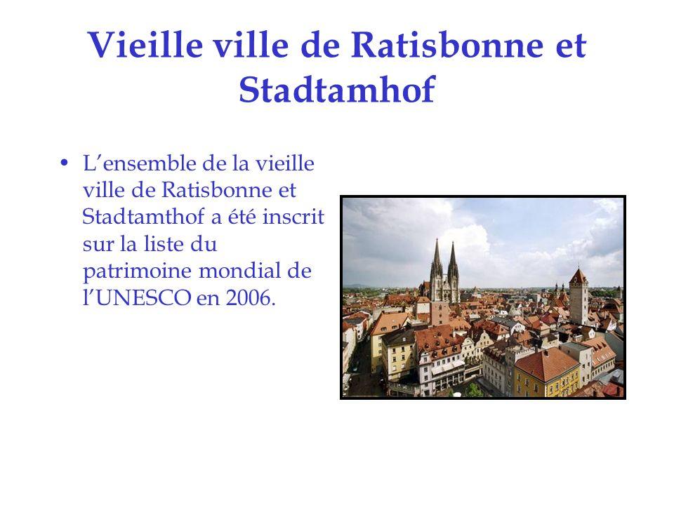 Vieille ville de Ratisbonne et Stadtamhof