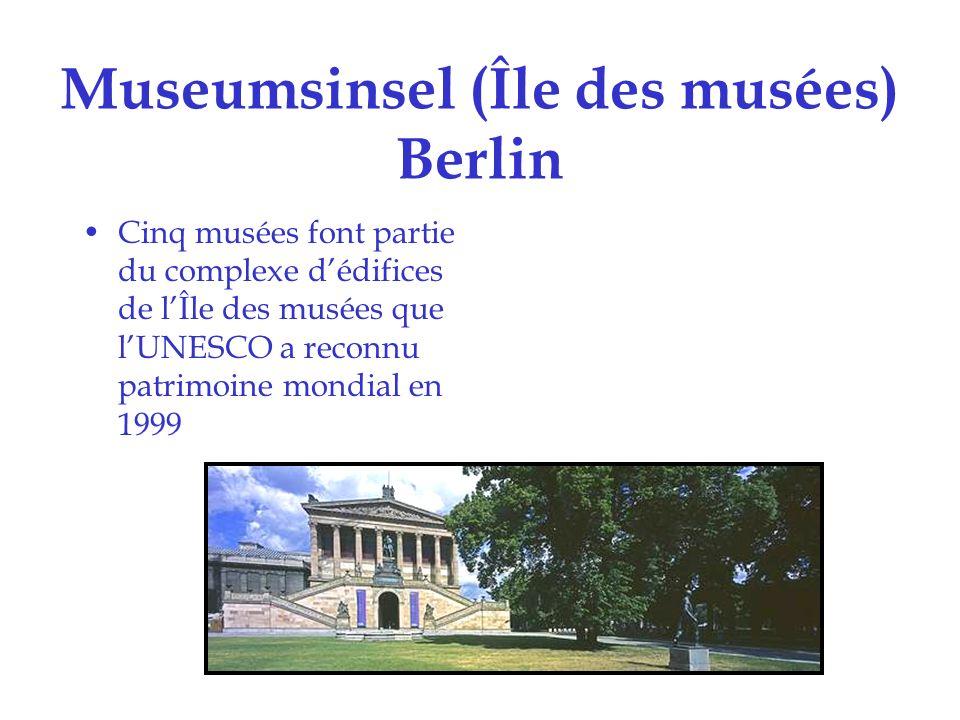 Museumsinsel (Île des musées) Berlin