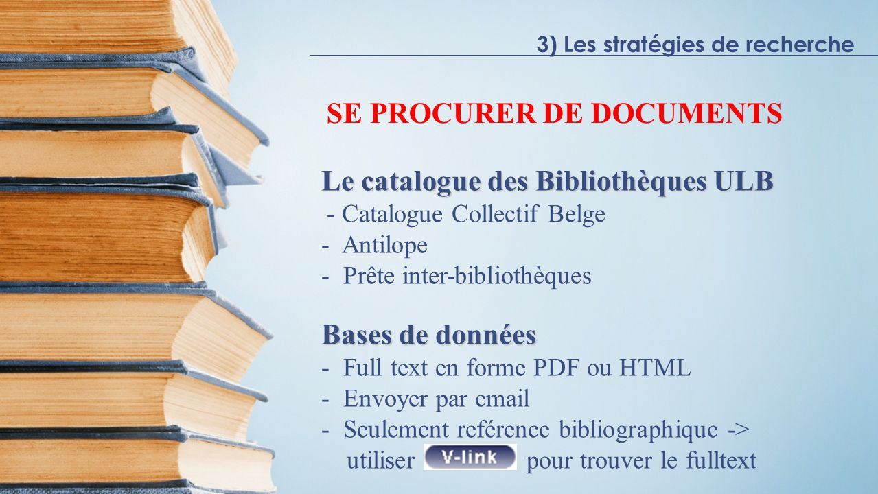 SE PROCURER DE DOCUMENTS