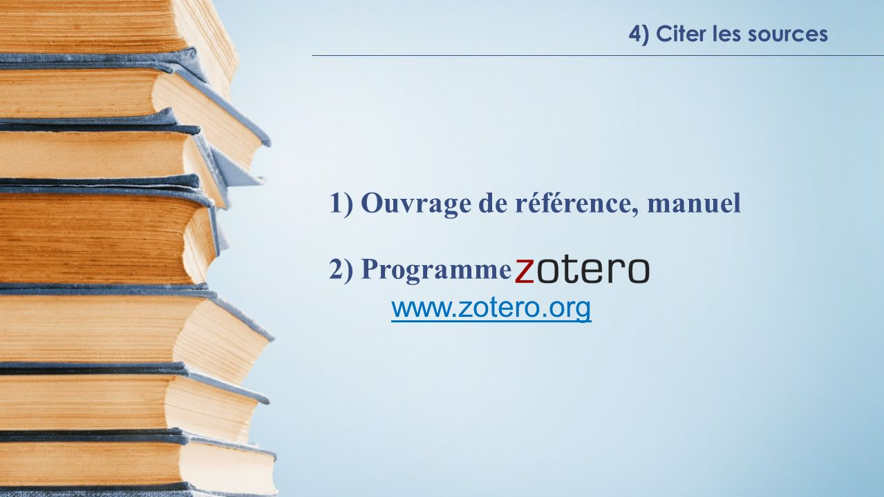 1) Ouvrage de référence, manuel 2) Programme