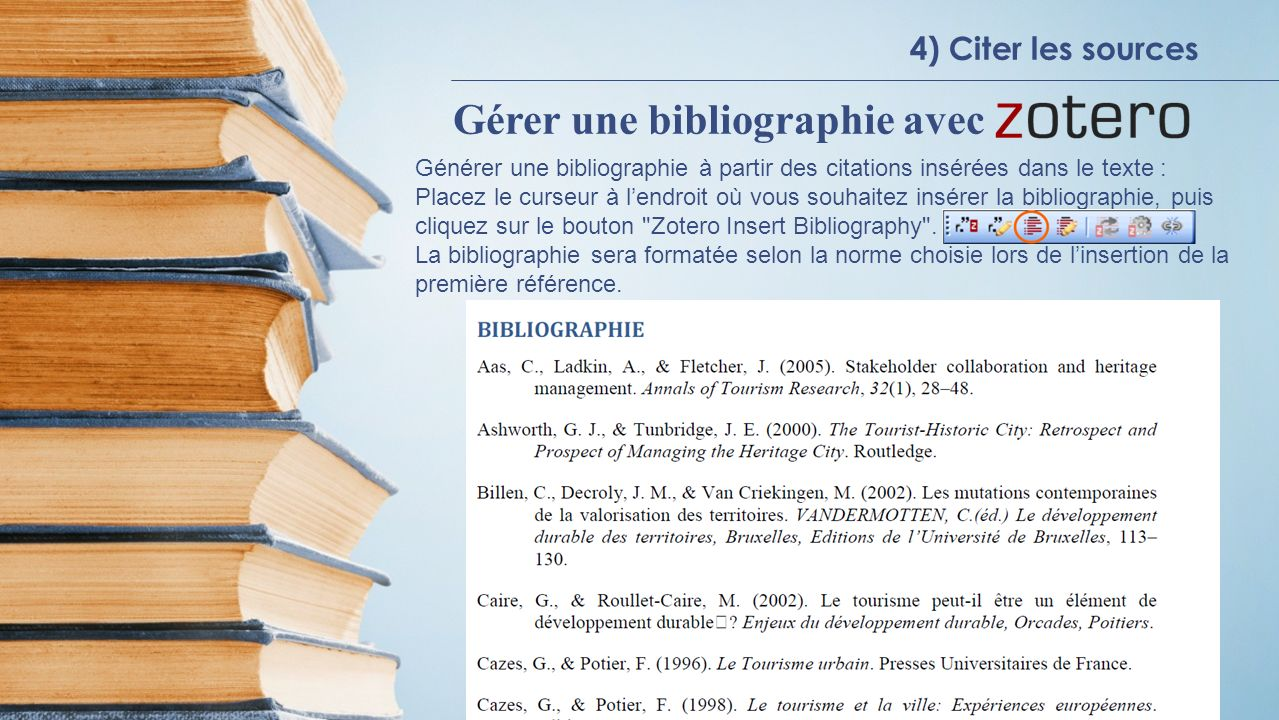 Gérer une bibliographie avec