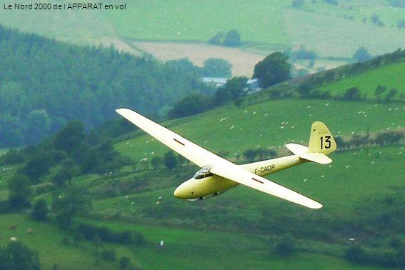 Le Nord 2000 de l'APPARAT en vol