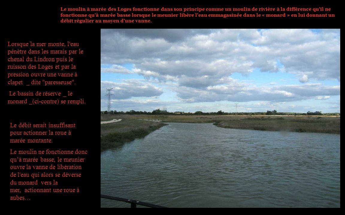 Le bassin de réserve _ le monard _(ci-contre) se rempli.