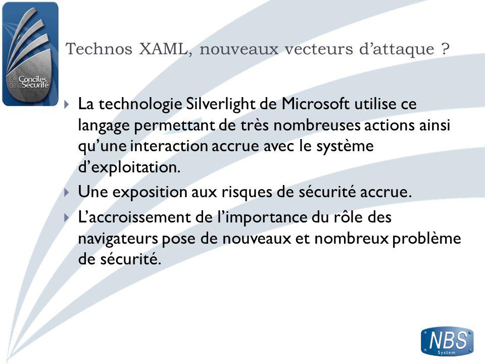 Technos XAML, nouveaux vecteurs d'attaque