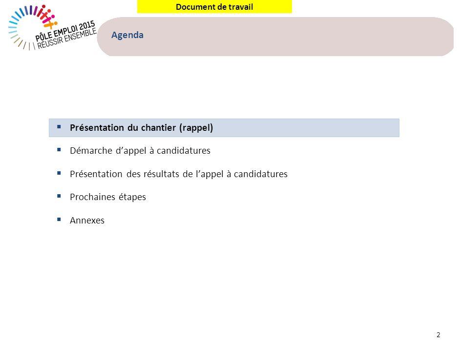 Rappel CCE 14 mars : Le chantier Transparence du Marché du Travail introduit le lancement de 5 nouveaux services, dont 3 en 2013
