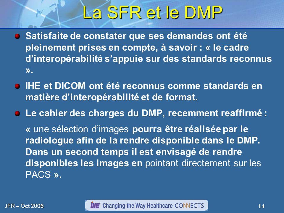 La SFR et le DMP