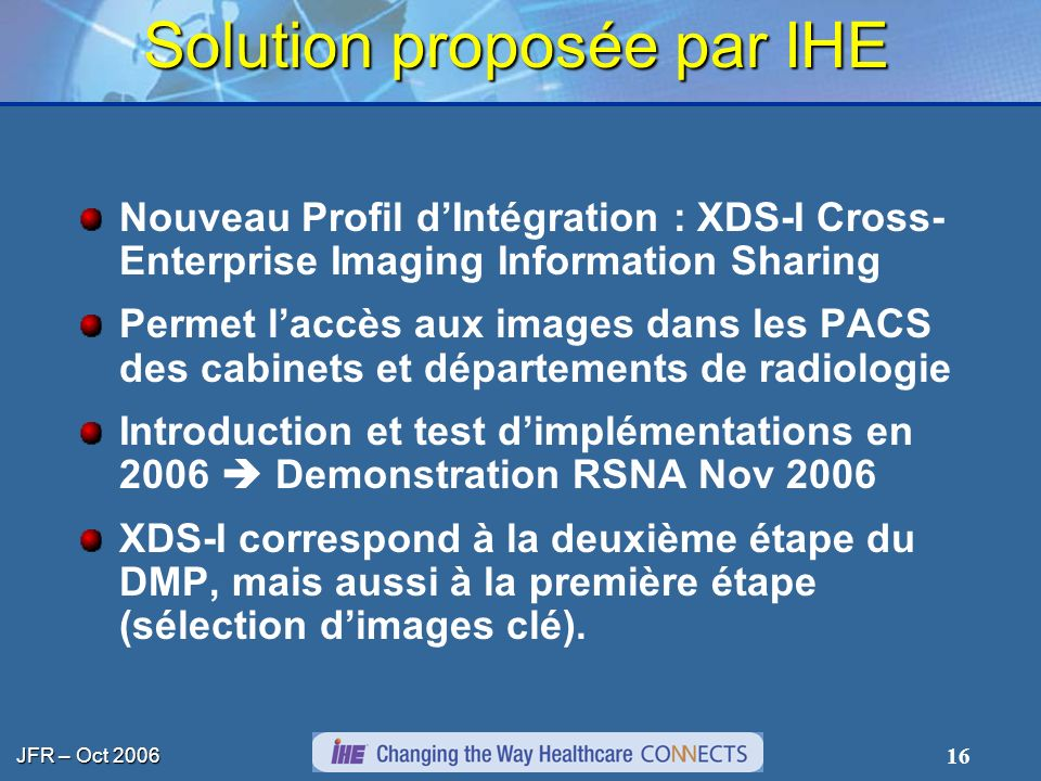 Solution proposée par IHE