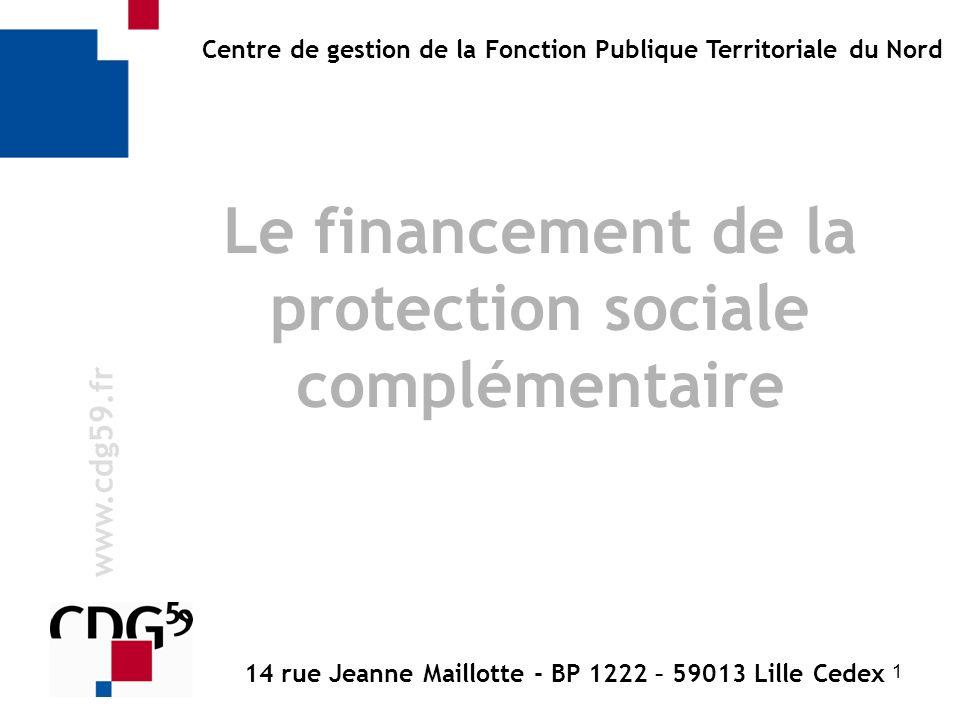 Le financement de la protection sociale complémentaire