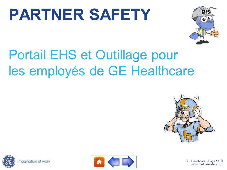 Portail EHS et Outillage pour les employés de GE Healthcare