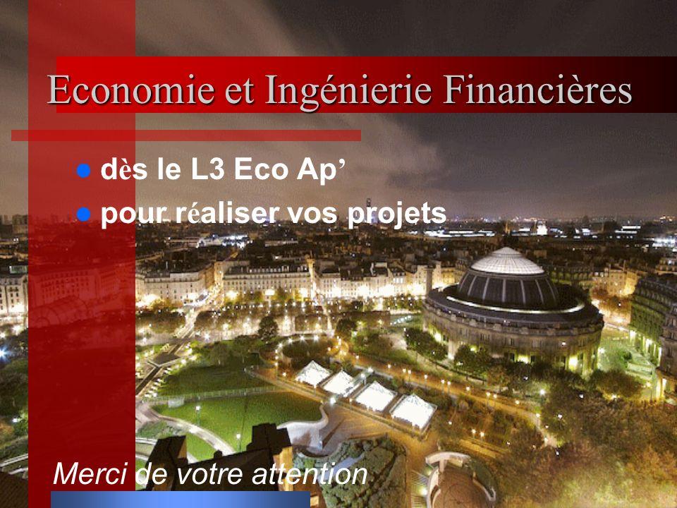 Economie et Ingénierie Financières