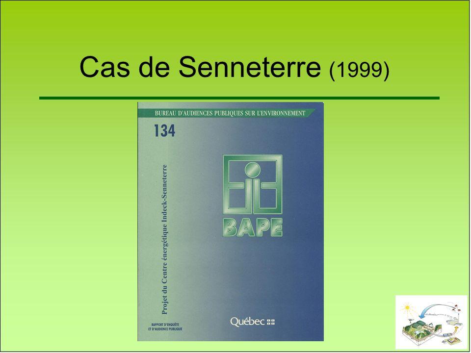 Cas de Senneterre (1999)