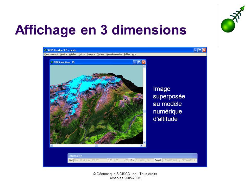 Affichage en 3 dimensions