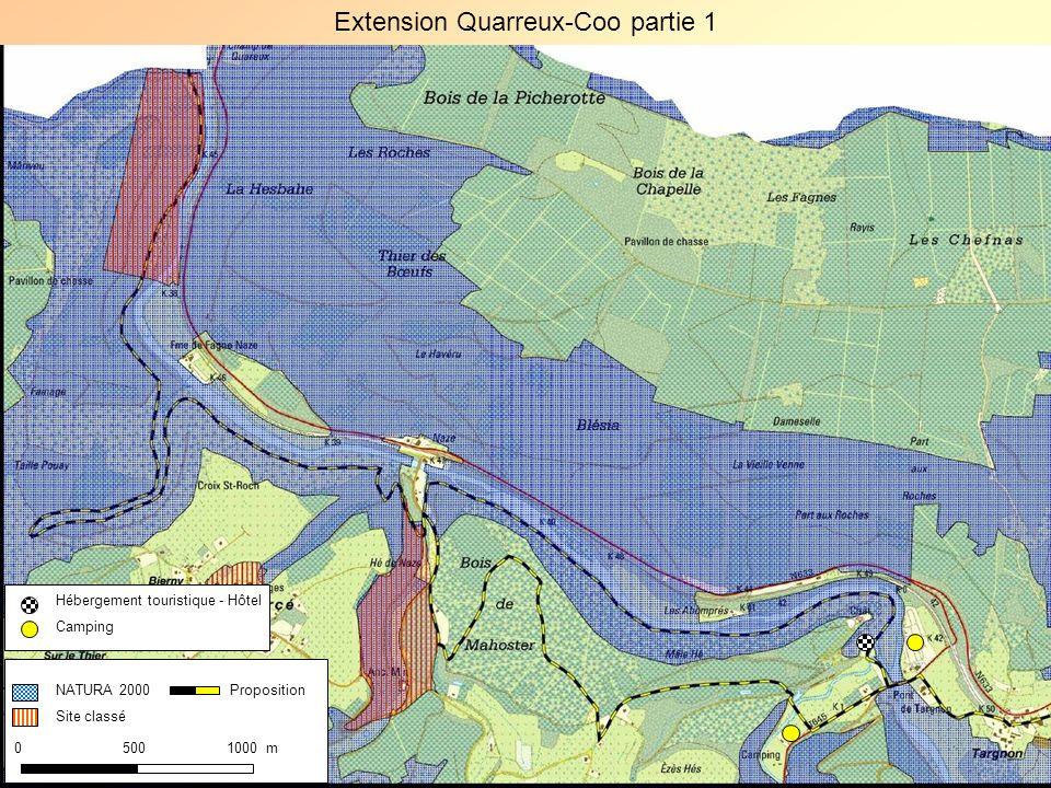 Extension Quarreux-Coo partie 1