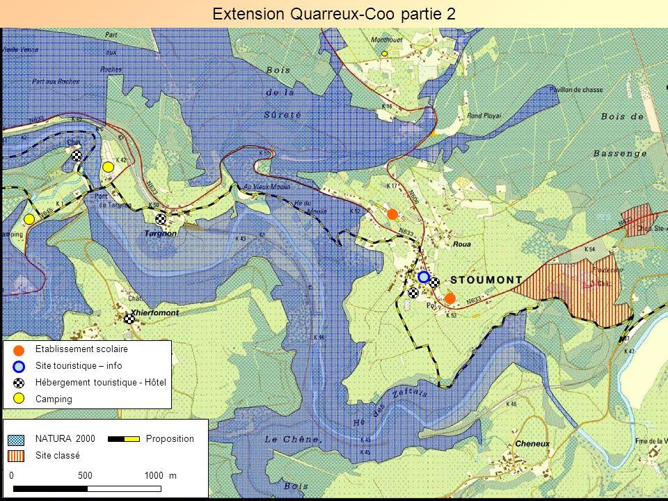 Extension Quarreux-Coo partie 2