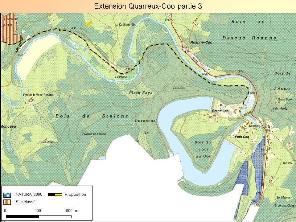 Extension Quarreux-Coo partie 3