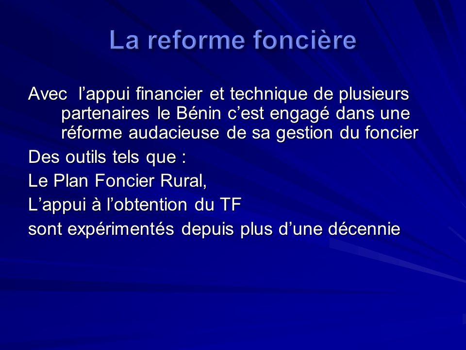 La reforme foncière