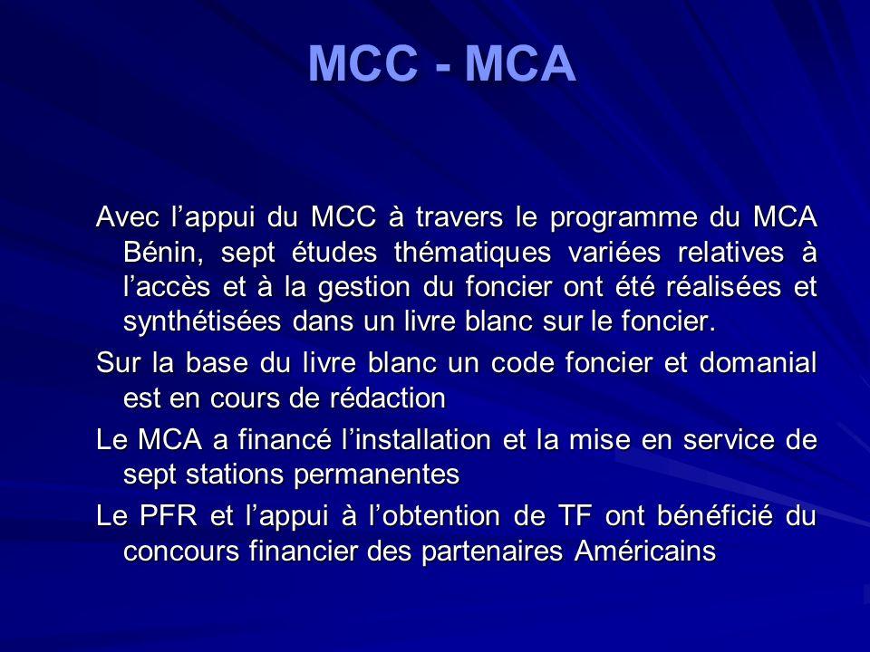 MCC - MCA