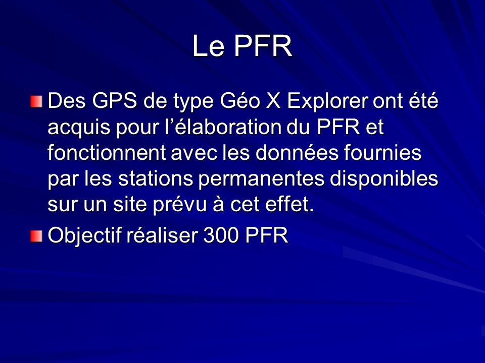 Le PFR