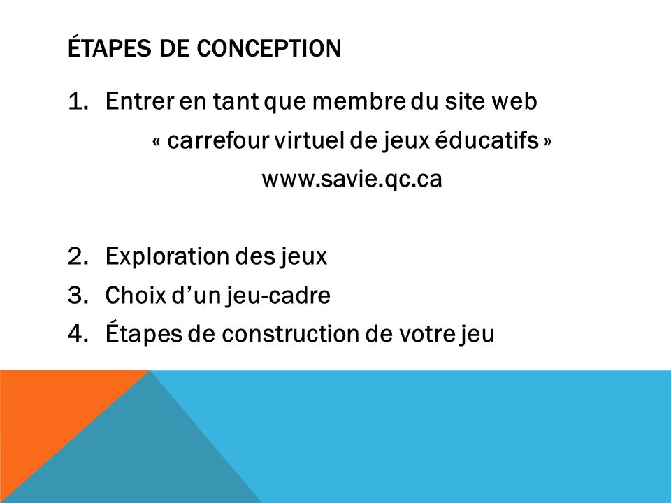Concevoir un jeu ducatif virtuel ppt video online - Jeu de construction de maison virtuel ...