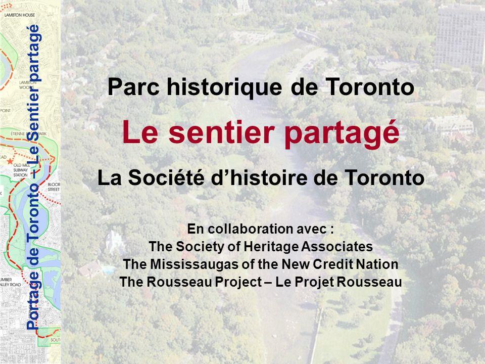 Le sentier partagé Parc historique de Toronto
