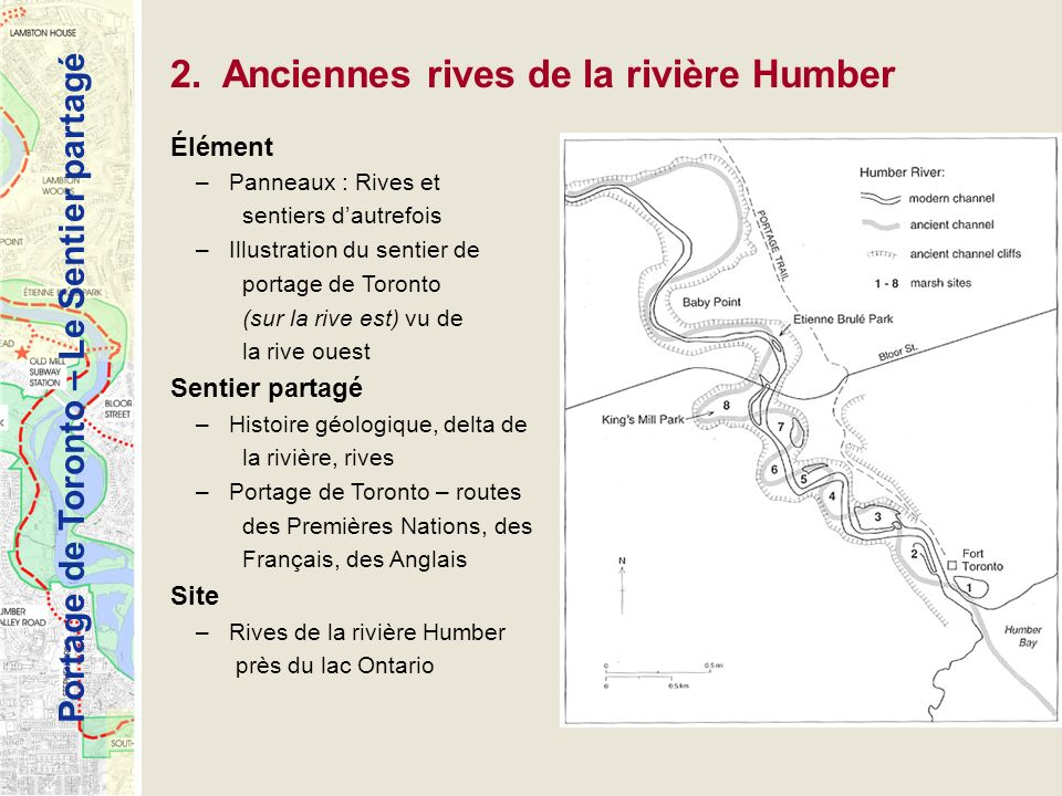 2. Anciennes rives de la rivière Humber